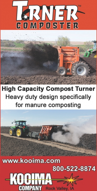 High Capacity Compost Turner!