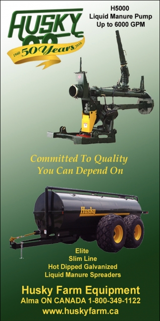 H5000 Liquid Manure Pump