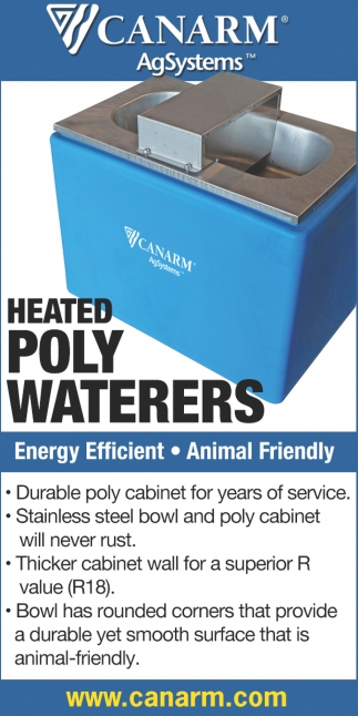 Heated Poly Waterers
