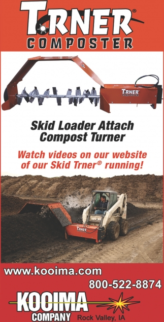 Skid Loader Attach Compost Turner