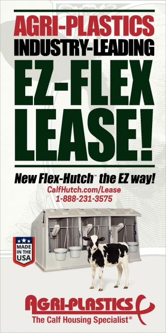 Agri-Plastics Industry-Leading Ez-Flex Lease!
