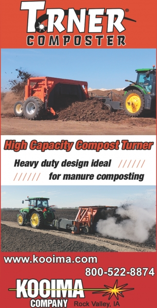 High Capacity Compost Turner