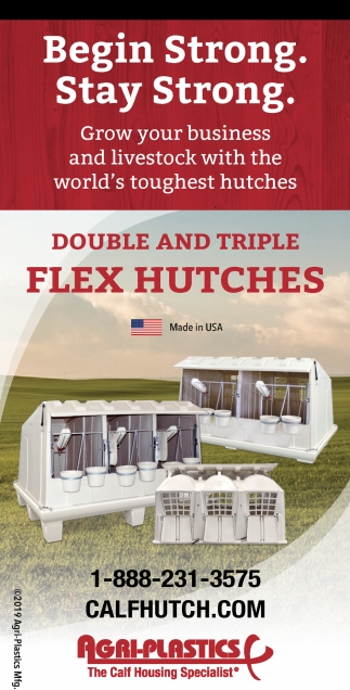 Double and Triple Flex Hutches