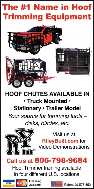The #1 Name in Hoof Trimming Equipment