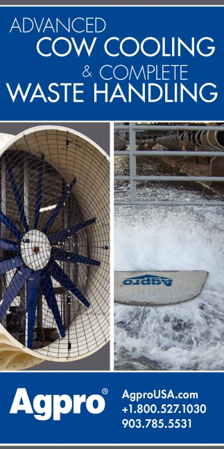 Advanced Cow Cooling & Complete Waste Handling
